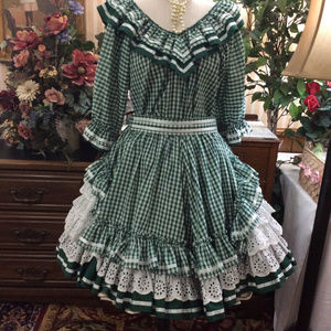 Suzi Ruffles Sissy Prissy CD Square Dance Outfit